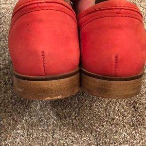 Topshop Shoes - TopShop Salmon Red Loafers size 38/7.5-8